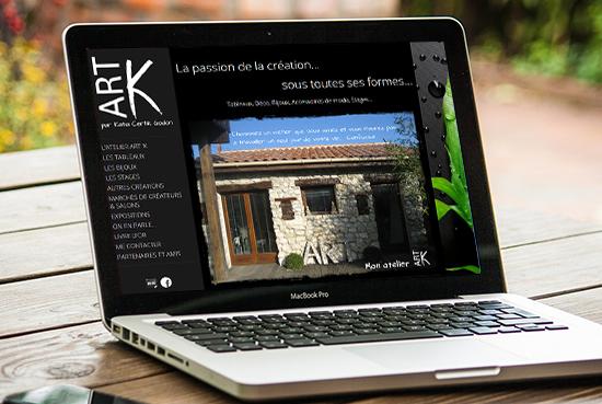 E-magencia - portfolio - site -Atelier Art K