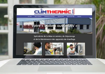 E-magencia - portfolio - site -Climthermic Pons