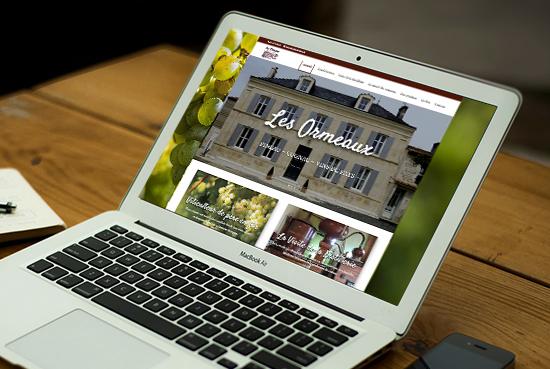 E-magencia - portfolio - site - Cognac Pineau les Ormeaux Pons