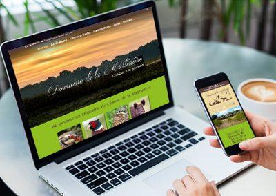 E-magencia - portfolio - site -Domaine de la Martinière