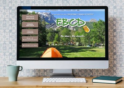 EBCD SIGNALETIQUE<br/>Refonte du site web
