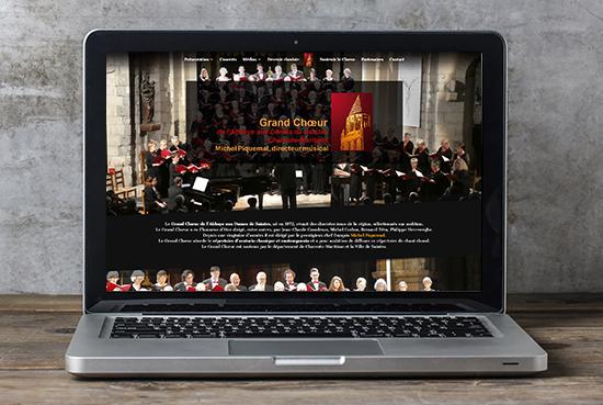 E-magencia - portfolio - site -Grand Choeur de l'Abbaye aux Dames Saintes