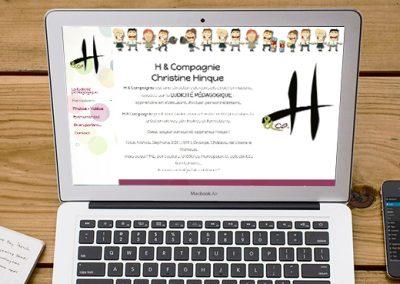 E-magencia - portfolio - site - H & Compagnie