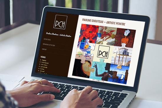 E-magencia - portfolio - site -Pauline Chouteau artiste peintre