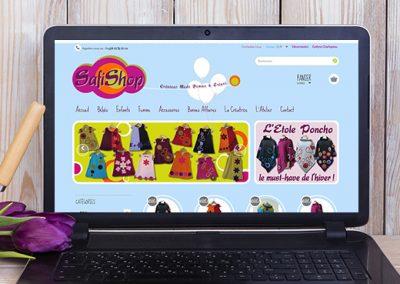 E-magencia - portfolio - site - Safishop