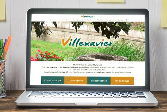 E-magencia - portfolio - site - Villexavier
