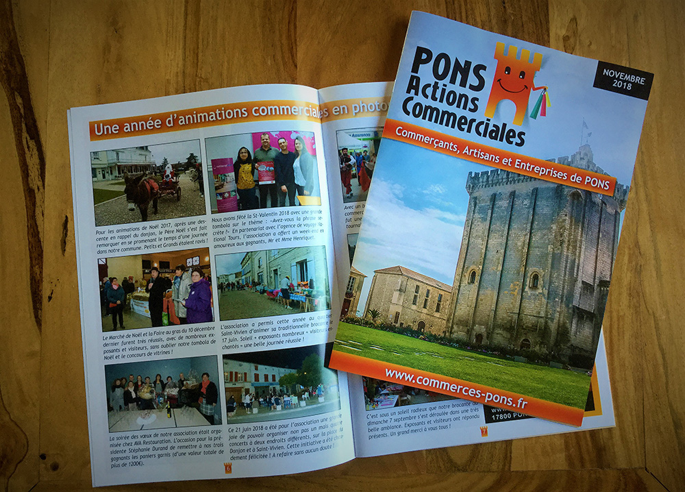 Pons Actions Commerciales - E-magencia graphiste - Magazine
