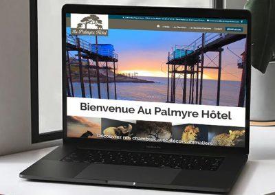 E-magencia - portfolio - site - Au Palmyre Hôtel - Hôtel la Palmyre