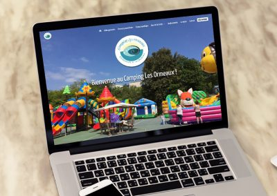 E-magencia - portfolio - site - Camping Les ormeaux Saint Palais sur Mer