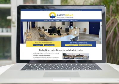 E-magencia - portfolio - site -Radiodôme - Radiologie Issoire