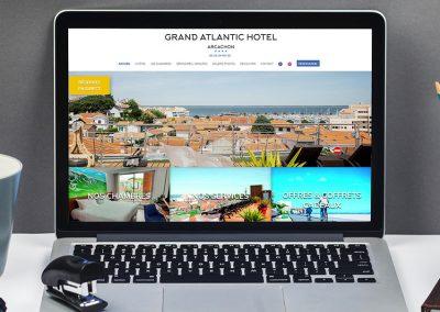 E-magencia - portfolio - site - Grand Atlantic Hôtel Arcachon
