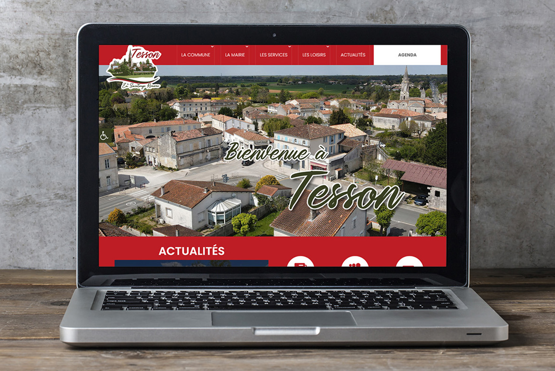 Commune de Tesson - Création de site internet - E-magencia