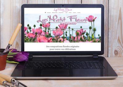 Lys matit Fleurs à Pons - Création de site internet - E-magencia