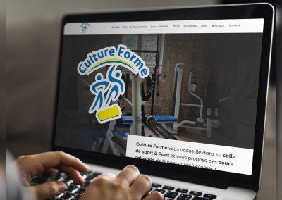 Culture Forme Pons - Création de site internet - E-magencia